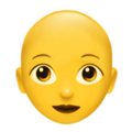 Woman: Bald on Apple iOS 13.1