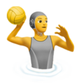 Person Playing Water Polo on Apple iOS 13.2
