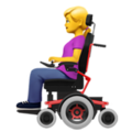 Woman in Motorized Wheelchair on Apple iOS 13.2