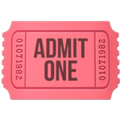 Admission Tickets on Apple iOS 13.3