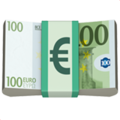 Euro Banknote on Apple iOS 13.3