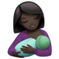 Breast-Feeding: Dark Skin Tone on Apple iOS 13.3