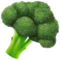 Broccoli on Apple iOS 13.3
