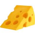 Cheese Wedge on Apple iOS 13.3