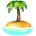 Desert Island on Apple iOS 13.3