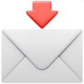 Envelope with Arrow on Apple iOS 13.3