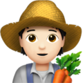 Farmer: Light Skin Tone on Apple iOS 13.3
