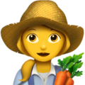 Woman Farmer on Apple iOS 13.3