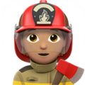 Firefighter: Medium Skin Tone on Apple iOS 13.3