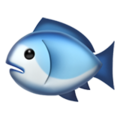 Fish on Apple iOS 13.3