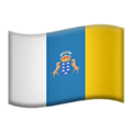 Flag: Canary Islands on Apple iOS 13.3