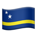 Flag: Curaçao on Apple iOS 13.3