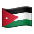Flag: Jordan on Apple iOS 13.3
