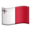 Flag: Malta on Apple iOS 13.3