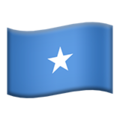 Flag: Somalia on Apple iOS 13.3