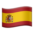 Flag: Spain on Apple iOS 13.3
