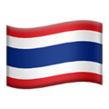 Flag: Thailand on Apple iOS 13.3