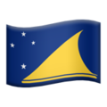 Flag: Tokelau on Apple iOS 13.3