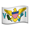 Flag: U.S. Virgin Islands on Apple iOS 13.3