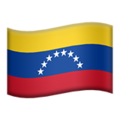 Flag: Venezuela on Apple iOS 13.3