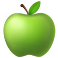 Green Apple on Apple iOS 13.3
