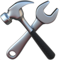 Hammer and Wrench on Apple iOS 13.3