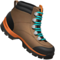 Hiking Boot on Apple iOS 13.3