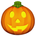 Jack-O-Lantern on Apple iOS 13.3