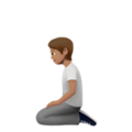 Person Kneeling: Medium Skin Tone on Apple iOS 13.3