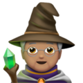 Mage: Medium Skin Tone on Apple iOS 13.3