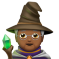 Mage: Medium-Dark Skin Tone on Apple iOS 13.3