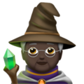 Mage: Dark Skin Tone on Apple iOS 13.3