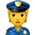 Police Officer on Apple iOS 13.3