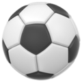 Soccer Ball on Apple iOS 13.3