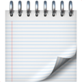 Spiral Notepad on Apple iOS 13.3
