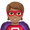 Superhero: Medium Skin Tone on Apple iOS 13.3