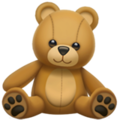 Teddy Bear on Apple iOS 13.3