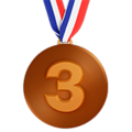 3rd Place Medal on Apple iOS 13.3