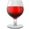 Wine Glass on Apple iOS 13.3
