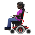 Woman in Motorized Wheelchair: Dark Skin Tone on Apple iOS 13.3