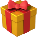 Wrapped Gift on Apple iOS 13.3