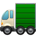 Articulated Lorry on Apple iOS 14.2