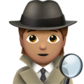 Detective: Medium Skin Tone on Apple iOS 14.2