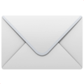 Envelope on Apple iOS 14.2
