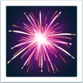 Fireworks on Apple iOS 14.2