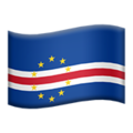Flag: Cape Verde on Apple iOS 14.2