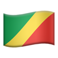 Flag: Congo - Brazzaville on Apple iOS 14.2
