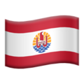 Flag: French Polynesia on Apple iOS 14.2