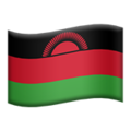 Flag: Malawi on Apple iOS 14.2