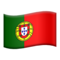 Flag: Portugal on Apple iOS 14.2
